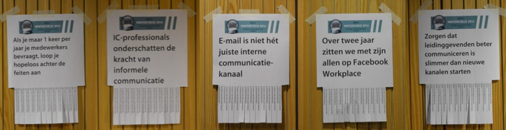 BViC Wintercheck Interne Communicatie Stellingen