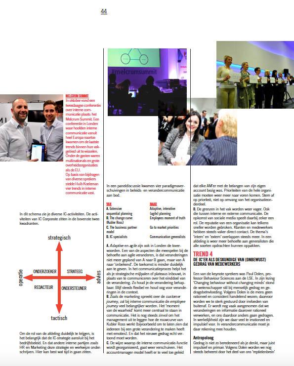 Artikel Antropologie op de IC in vakblad Communicatie-3