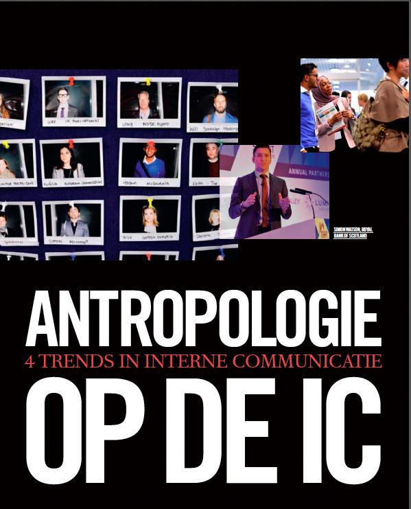 Artikel Antropologie op de IC in vakblad Communicatie
