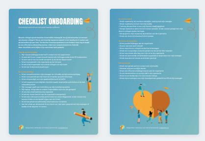 Checklist onboarding voorbeeldweergave download